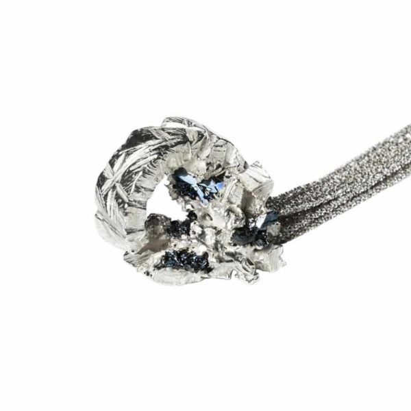 Zydrune Anomaly jewellery, 'Moonlight Frost' pendant.