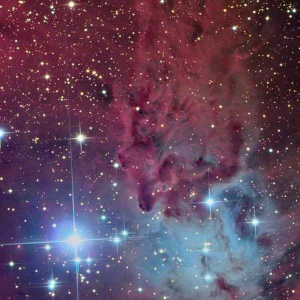 Celestial skies, inspiration for Zydrune 'Fox Fur' Topaz earrings.