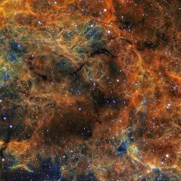 Celestial skies, inspiration for Zydrune 'IC443' gemstone earrings.