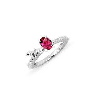 Zydrune Celestial 'IC5146' stacking Tourmaline ring.