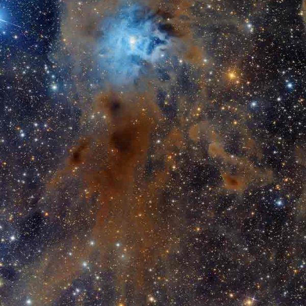 Celestial skies, inspiration for Zydrune 'Iris' charm bracelet.