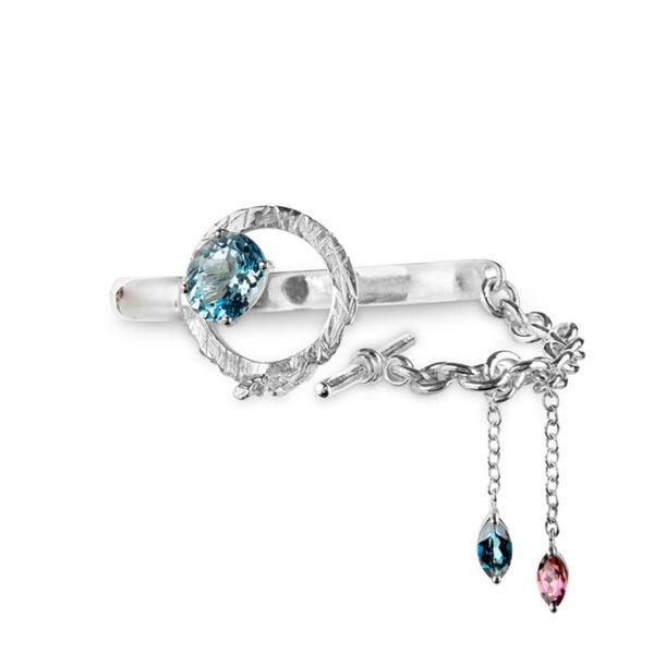 Zydrune Celestial 'NGC6960' designer bracelet.