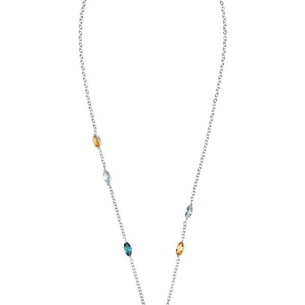Zydrune Celestial 'Trifid' gemstone necklace.