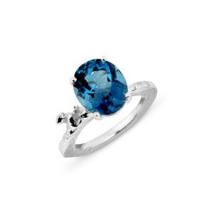 Zydrune Celestial 'Vega' blue ring.