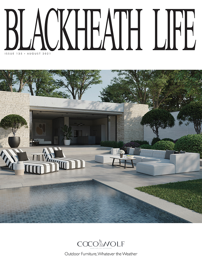 Front cover of Blackheath Life magazine with an article of ZYDRUNE jewellery.